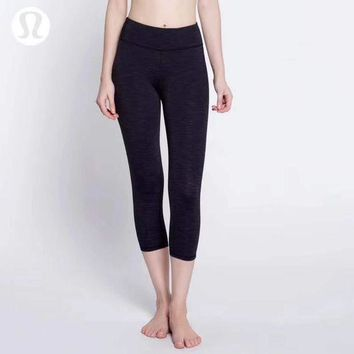 CREYUP0 Lululemon Women Fashion Gym Yoga Exercise Fitness Leggings Sweatpants-3
