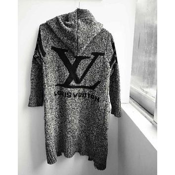 LV Louis Vuitton ADIDAS Sweater Knit Cardigan Jacket Coat