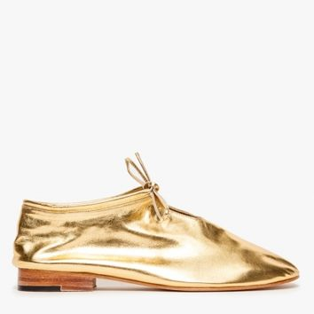 Martiniano Bootie in Gold