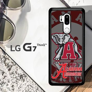 Alabama Crimson Tide X3309 LG G7 ThinQ Case