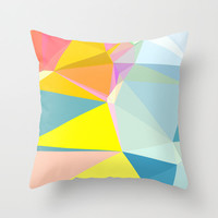 Geometric Modern Print Pillow Cover