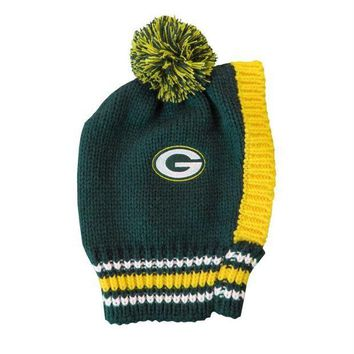 PEAPYW9 Green Bay Packers Pet Knit Hat