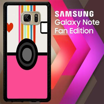 A Beautiful Mess E0919 Samsung Galaxy Note FE Fan Edition Case