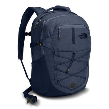 Borealis Backpack in Urban Navy Light Heather by The North Face