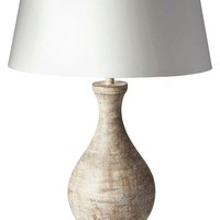 Transitional Table Lamp White