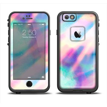 The Tie Dyed Bright Texture Apple iPhone 6 LifeProof Fre Case Skin Set