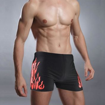Men Swim Shorts Men Swimsuits Surf Board Beach Wear Swimming Trunks Boxer Shorts Swim Breathable Swimwear