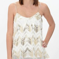 Daytrip Chevron Tank Top