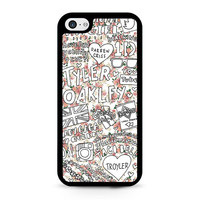 Tyler Oakley Floral Collage iPhone 5C Case