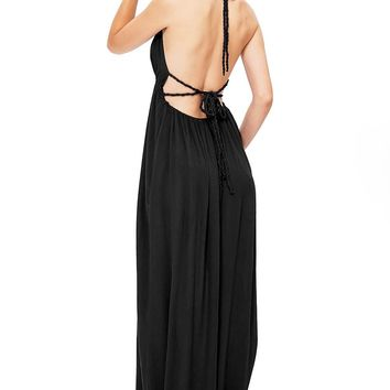 Venus Halter Maxi Dress