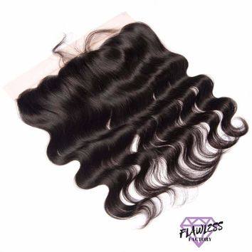 Brazilian Body Wave Lace Frontal Closure