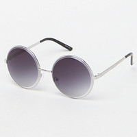 LA Hearts Classic Metal Round Sunglasses at PacSun.com