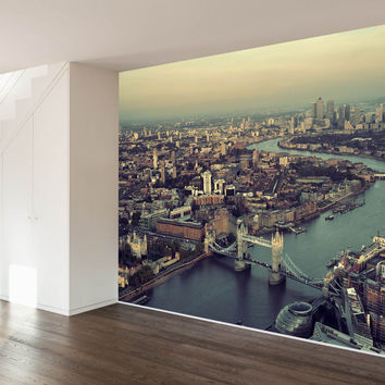 The River Thames Wall Mural Decal