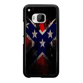 BROWNING REBEL FLAG HTC One M9 Case Cover