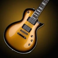 ESP LTD EC Series EC-1000 Electric Guitar - Metallic Gold Sunburst at Hello Music