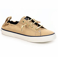 Sperry Pier View Scrunch Women's Sneaker (TAN)