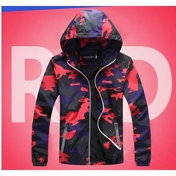 New Lover Jacket Hip Hop Man And Women Casual Coat Hooded Camouflage Colours Student Uniform 2018 Spring Autumn Outerwear | Best Deal Online