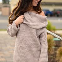 Love Me Wild Sweater- Light Mauve