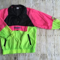 Rare Vintage Ocean Pacific Windbreaker unisex clothing track rain jacket coat