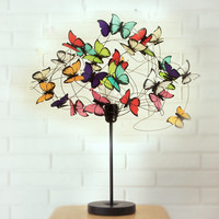 "Table lamp with butterflies ""Barbara"""