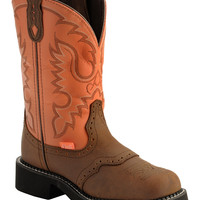 Justin Coral Stitched Gypsy Cowgirl Boots - Round Toe - Sheplers