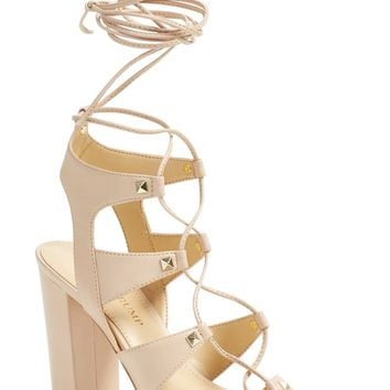 Ivanka Trump 'Kavita' Lace-Up Sandal (Women) | Nordstrom