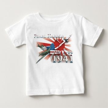 Pearl Habor 7th Dec 1941 Baby T-Shirt