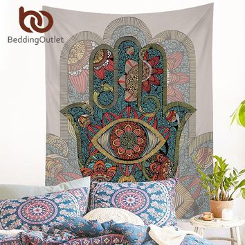Wall Tapestries  Bedding Outlet Hamsa Hand Tapestry