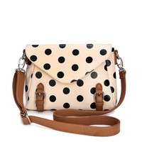 Fashion Dot Messenger Bag shoulder bag-camel