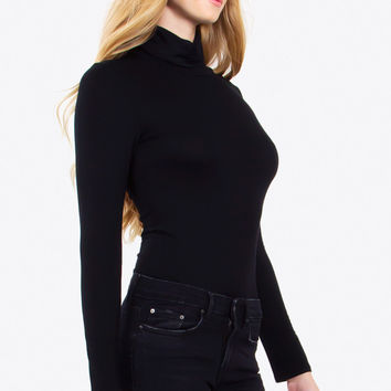 AUDREY MOCK NECK BODYSUIT