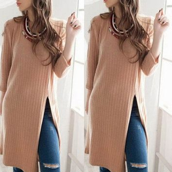 Autumn Winter Fashion Women Long Sleeve Elegant Bodycon Vestidos Short Sweater Knit Dress Sexy Vestidos Sweater Dresses