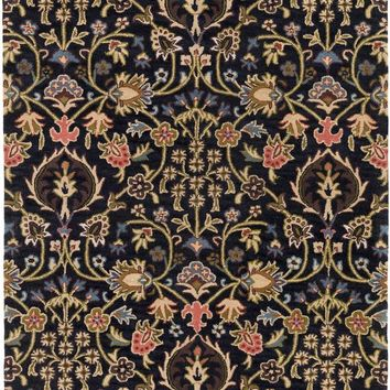 Surya Castello Arts and Crafts Brown CLL-1028 Area Rug