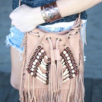 CROSS BODY BOHO - BUCKSKIN - Junk GYpSy co.