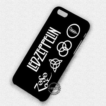 Led Zeppelin Symbol - iPhone 7 6 Plus 5c 5s SE Cases & Covers #music #lz