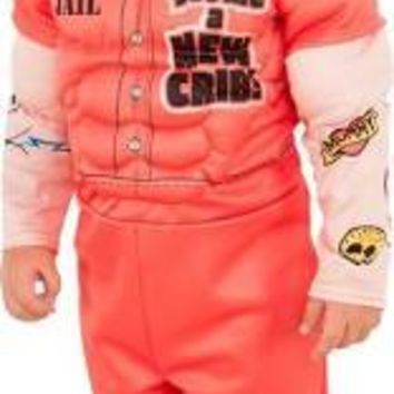 Kids Muscle Man Prisoner Costume with Tattoo Sleeves
