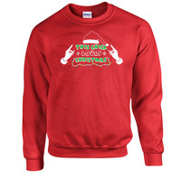 Funny Christmas Sweatshirt This Chick Loves Christmas Hoodie Presents For Christmas Holiday Tops Christmas Pullover Xmas Sweatshirt DN-304