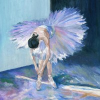 Ballerina Painting by Jamie Frier - Ballerina Fine Art Prints and Posters for Sale