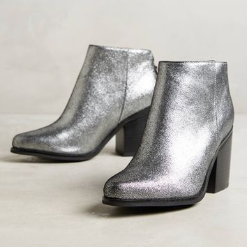 AoverA Brook Metallic Booties