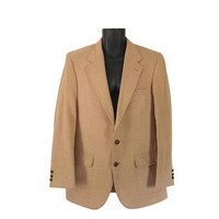 Vintage Slim Fit Men Camel Hair Blazer Camel Hair Jacket Men Blazer 42 Single Breasted Men Sport Coat Men Sport Jacket Men Suit Jacket 70s