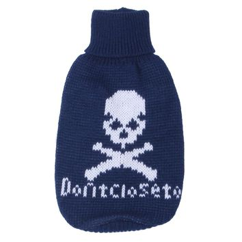 Breathable Comfortable Pet Cat Dog Clothes Soft Clothing Skull Head Sweater