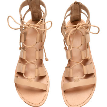 H&M Leather Sandals $49.99