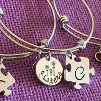 Sister Gift - Big Sister, Middle Sister, Little Sister - Sister Jewelry Set - Sis - Sister - Gift for Sister - Sisters forever