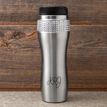 Personalize a Bling Tumbler