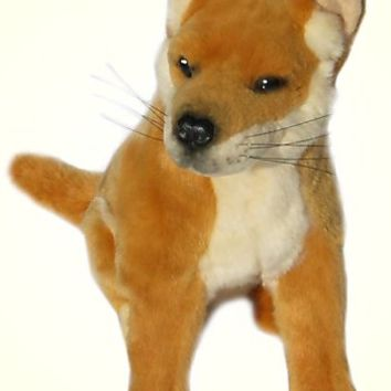 Plush Sitting Dingo Stuffed Animal