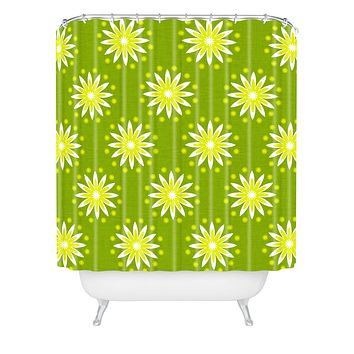 Caroline Okun Citrus Season Shower Curtain