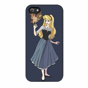 sleeping beauty disney princess owl cases for iphone se 5 5s 5c 4 4s 6 6s plus