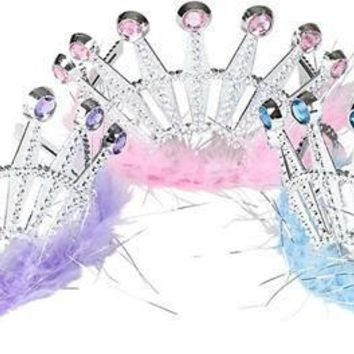 feather and jewel tiara assortment Case of 288