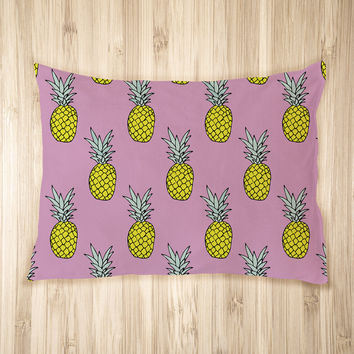 Pineapple Party Pet Bed