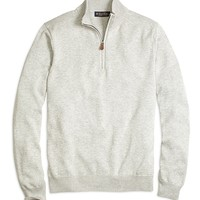 Men's Supima Cotton Half-Zip Sweater