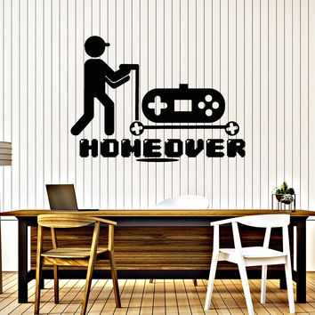 Vinyl Decal Wall Sticker Video Gamers Joystick Playroom Large Decor (n868)